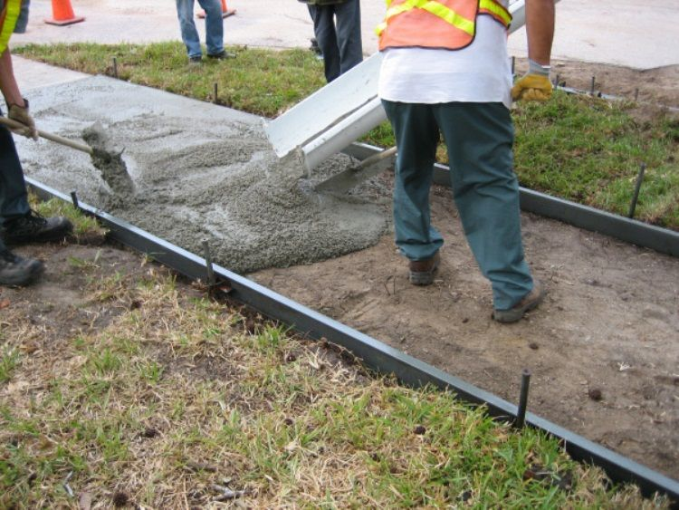 Ремонт бетонной дорожки своими руками