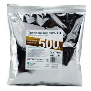 Тетрамізол: інструкція із застосування у ветеринарії