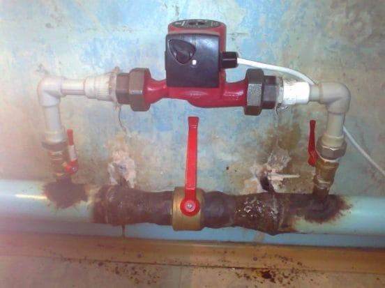 Циркуляционный насос для отопления в частном доме своими руками 82
