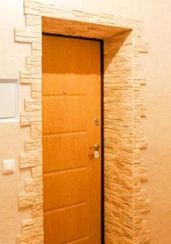 Отделка входной двери изнутри своими руками 7