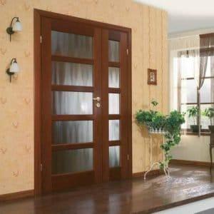 Види міжкімнатних дверей – особливості конструкцій і матеріалу