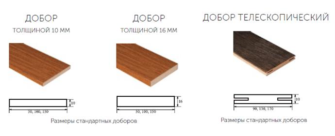 Телескопічні добори – види, розміри, матеріали, установка