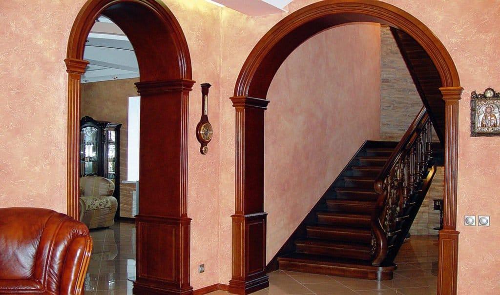 Дверний отвір без дверей – варіанти оформлення