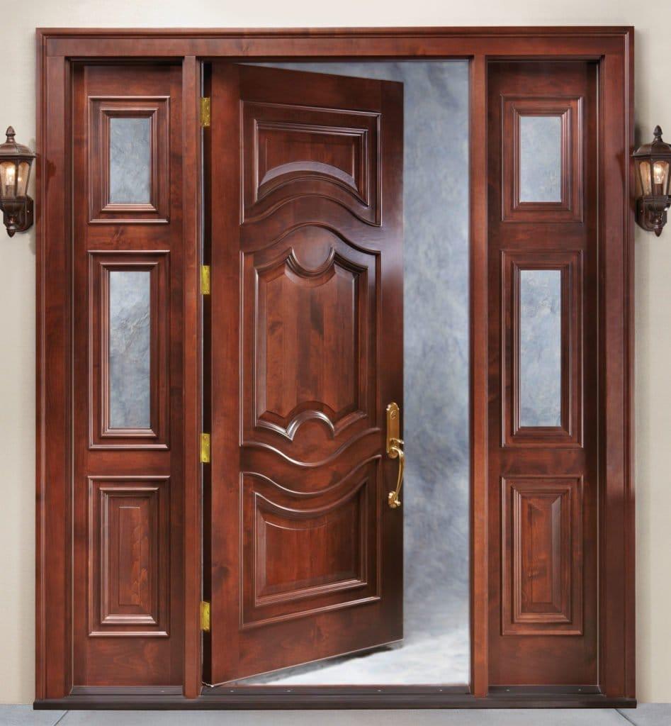 Двері з натуральної деревини – краса від природи