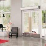Теплова завіса на вхідні двері – захист від холоду, протягів і пилу