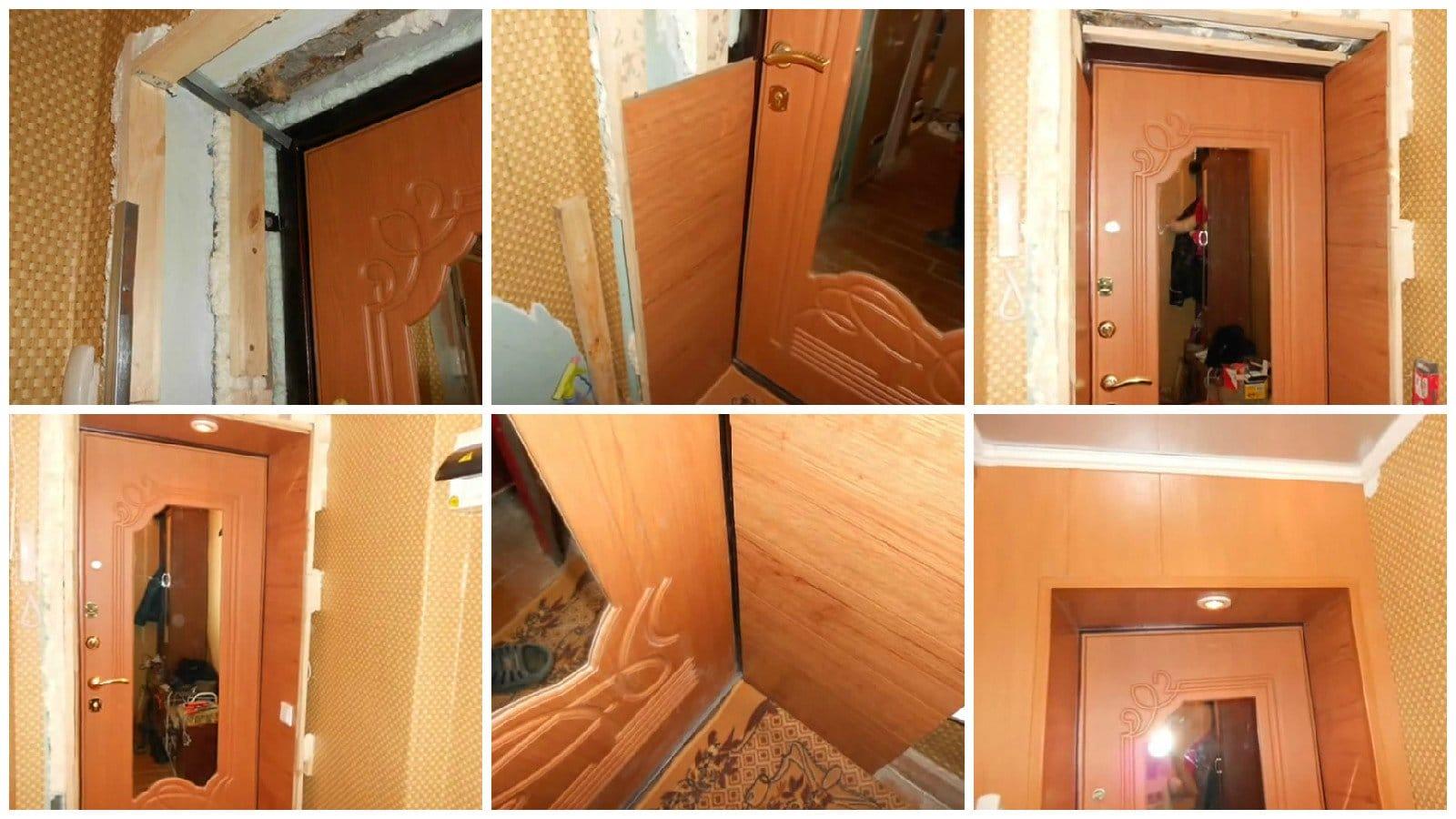 Как сделать своими руками входную дверь в дом 745