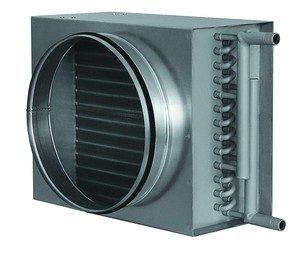 Калорифери для припливної вентиляції: пристрій водяного та електричного приладу