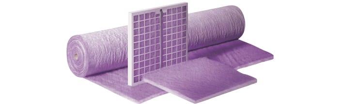 Повітряні фільтри для вентиляції