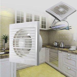 Витяжний вентилятор c зворотним клапаном: примусовий відтік повітря з ванни, туалету, кухні