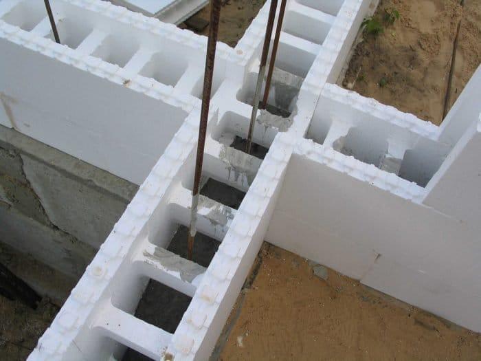 Правила і особливості будівництва будинку з незнімної опалубки своїми руками