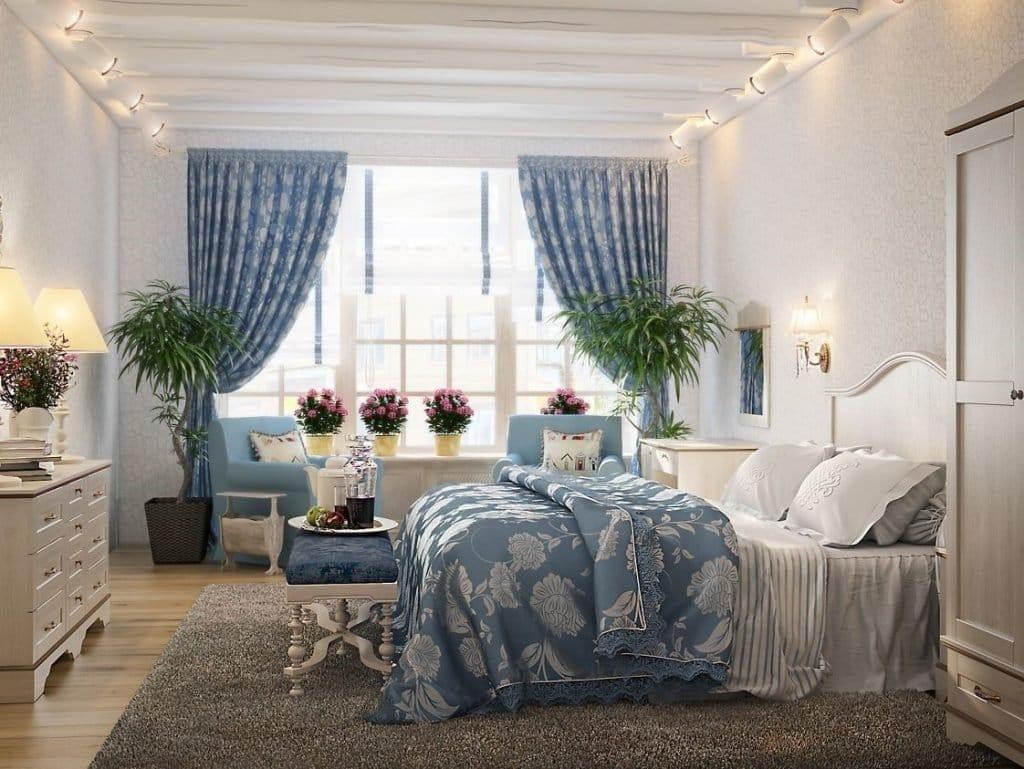 Як правильно використовувати рослини в інтер'єрі спальні