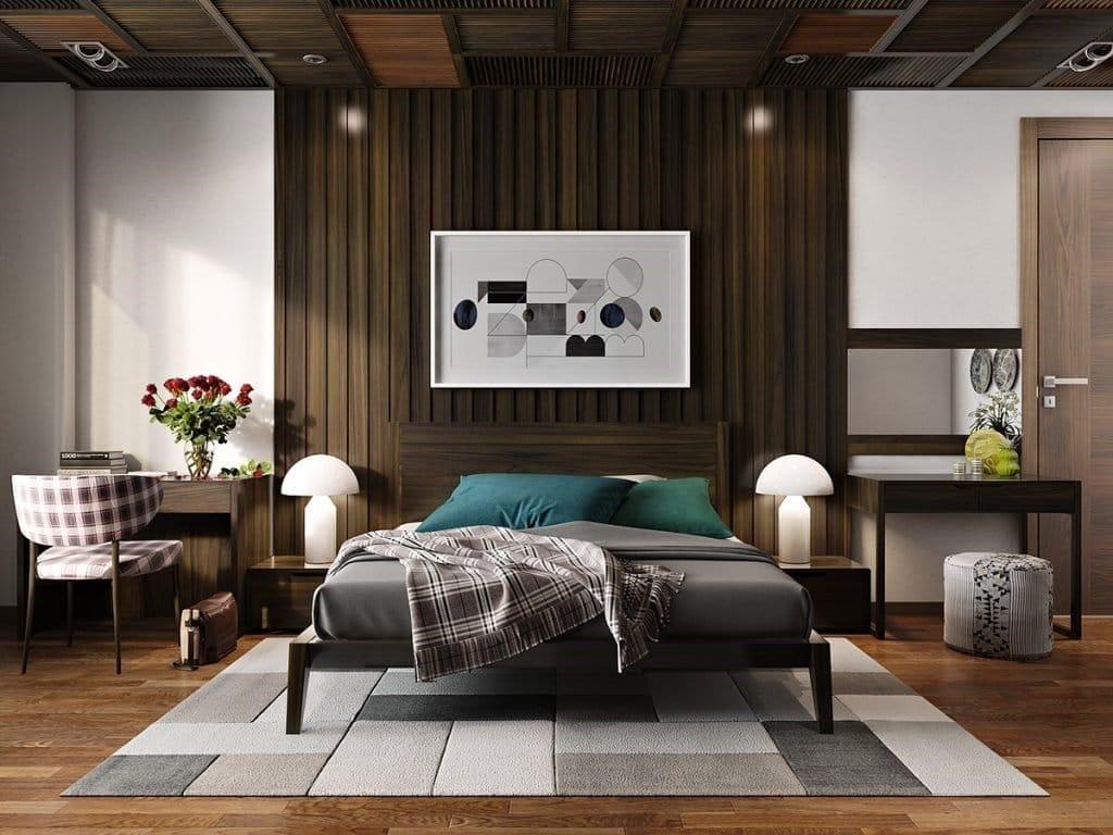Незвичайні стелі в спальні