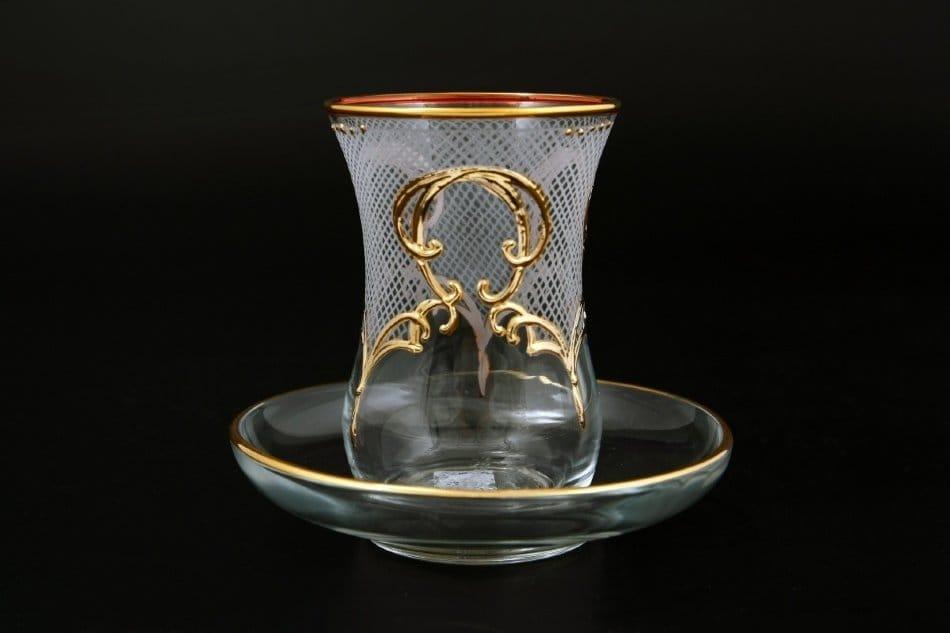 Рюмки з серії side для чаю і кави: що це таке, кришталеві і скляні турецькі горнята, набори азербайджанської чайної посуду