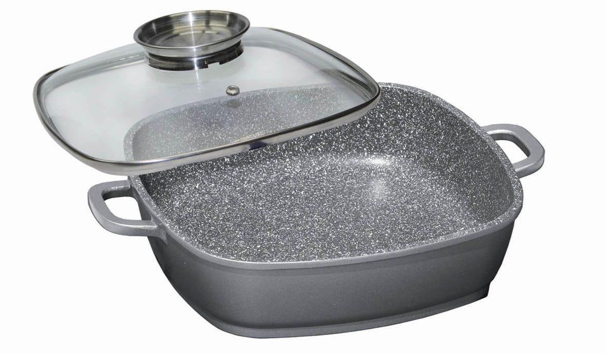 Сковорода з кам'яним антипригарним покриттям: що це таке, плюси і мінуси, які сковорідки з каменю краще
