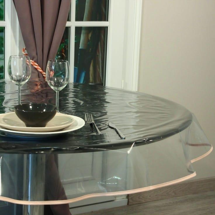 Захисні прозорі клейонки для столу: переваги, різноманітність, виробники, рекомендації