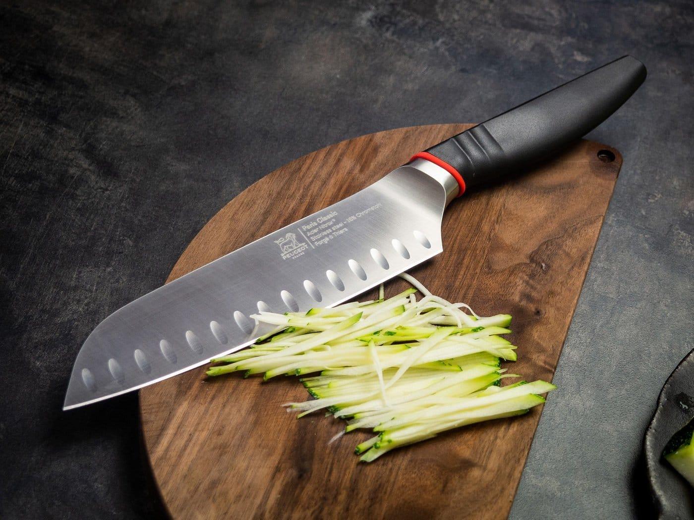 Японські ножі для кухні: особливості, види японських кухонних ножів, матеріали для клинків і рукоятей