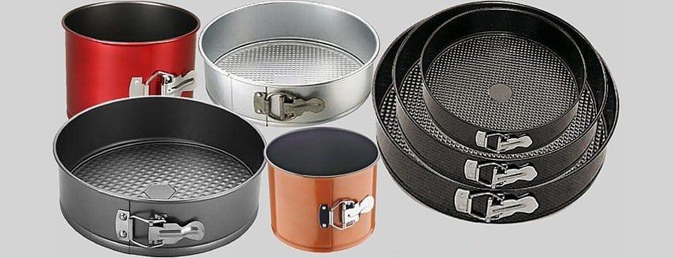 Професійні форми для випічки: набори, скляні та металеві, фігурні та кондитерські, чим замінити