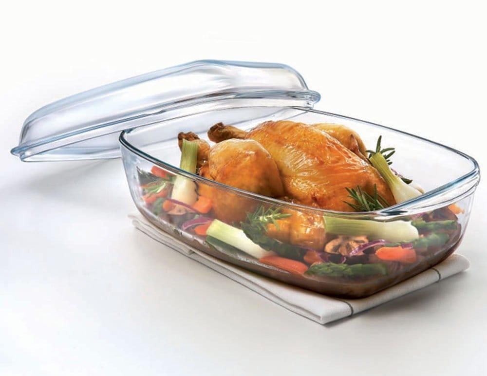 Каструлі скляні: для газової і електричної плити, з кришкою, з жароміцного і термостійкого скла